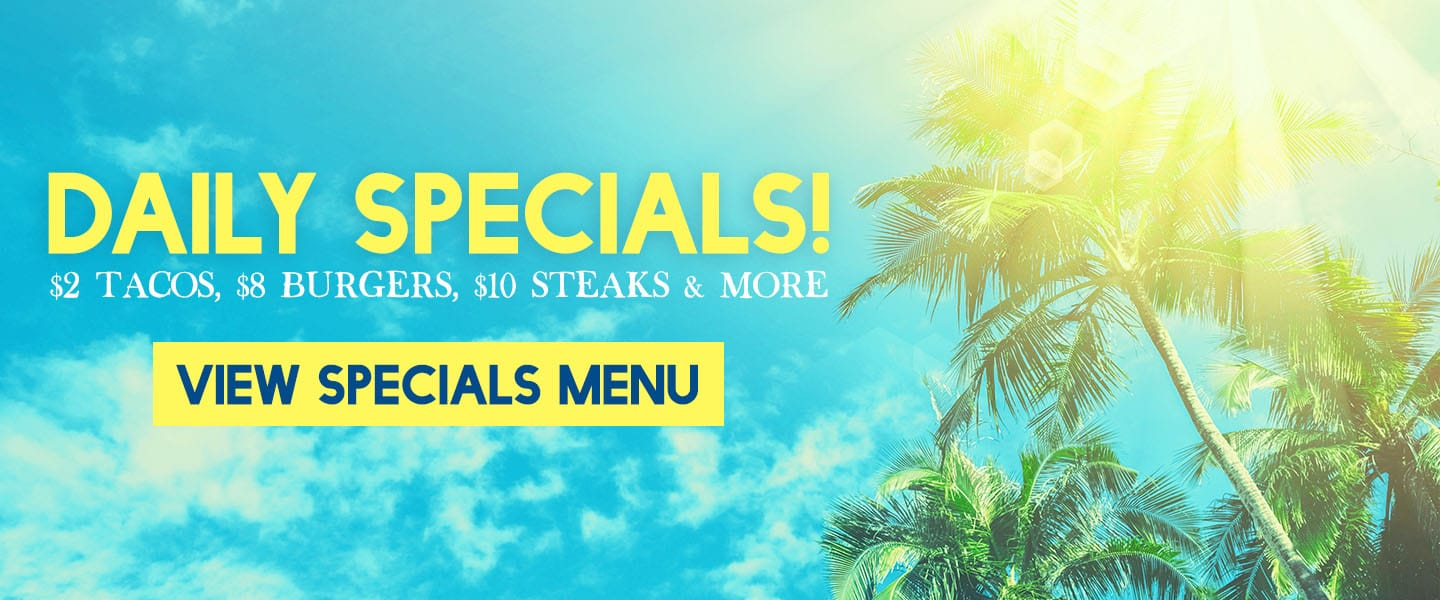 Lunch and Dinner Specials at the Beach House restaurant in Gulf Shores!